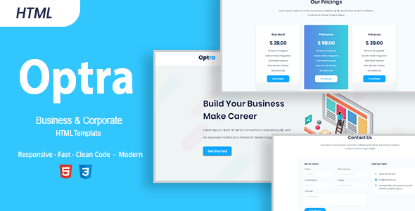 Optra | Business HTML Template